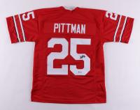 Antonio Pittman Signed Jersey (PSA COA) at PristineAuction.com