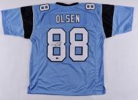 Greg Olsen Signed Jersey (Beckett Hologram) at PristineAuction.com