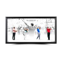 """Tiger Woods Signed Framed LE """"Victory"""" 18x36 Photo (UDA Hologram) at PristineAuction.com"""