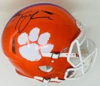Trevor Lawrence Signed Clemson Tigers Full-Size Authentic On-Field Speed Helmet (Fanatics Hologram) at PristineAuction.com