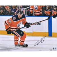 Leon Draisaitl Signed Oilers 16x20 Photo (Fanatics Hologram) at PristineAuction.com