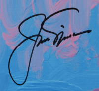Jack Nicklaus & Peter Max Signed 35x41 Custom Framed LE Lithograph (Beckett LOA) (See Description) at PristineAuction.com