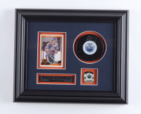 Paul Coffey Signed Oilers 10.5x12.5 Custom Framed Puck Display (COJO COA) (See Description) at PristineAuction.com