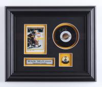 Kirk McLean Signed Canucks 10.5x12.5 Custom Framed Puck Display (COJO COA) (See Description) at PristineAuction.com