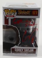 "Corey Taylor Signed Slipknot #177 Funko Pop! Vinyl Figure Inscribed ""People = S***"" (Beckett Hologram) at PristineAuction.com"