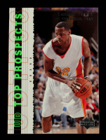 LeBron James 2003-04 UD Top Prospects #60 RC at PristineAuction.com