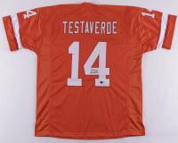 Vinnie Testaverde Signed Jersey (Beckett Hologram) at PristineAuction.com
