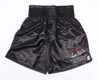 Leon Spinks Signed LE Everlast Career Stat Boxing Trunks (Beckett COA) at PristineAuction.com