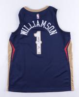 Zion Wiliamson Signed Pelicans Jersey (Fanatics Hologram) at PristineAuction.com