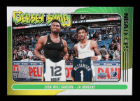 Ja Morant / Zion Williamson 2020-21 Hoops Jersey Swap #10 at PristineAuction.com