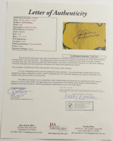"""Jack Nicklaus Signed 2018 Masters Golf Pin Flag Inscribed """"63, 65, 66, 72, 75, 86"""" (JSA LOA) at PristineAuction.com"""