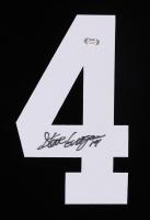 Steve Grogan Signed #4 Jersey Number (PSA COA) at PristineAuction.com