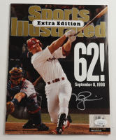 Mark McGwire Signed 1998 Sports Illustrated Magazine (JSA COA) at PristineAuction.com