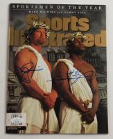 Mark McGwire & Sammy Sosa Signed 1998 Sports Illustrated Magazine (JSA COA) at PristineAuction.com