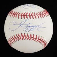 Mark McGwire & Sammy Sosa Signed OML Baseball (JSA COA) at PristineAuction.com