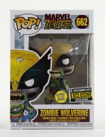 Wolverine - Glow-in-the-Dark - Marvel Zombies #662 Funko Pop! Vinyl Figure at PristineAuction.com