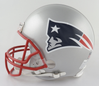 """Tom Brady Signed LE Patriots Full-Size Authentic On-Field Helmet Inscribed """"Most SB Wins"""" (TriStar Hologram & Brady Hologram) (See Description) at PristineAuction.com"""