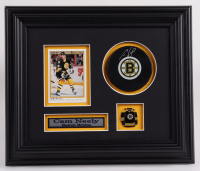 Cam Neely Signed Bruins 10.5x12.5 Custom Framed Puck Display (COJO COA) (See Description) at PristineAuction.com