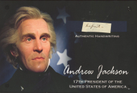 Andrew Jackson Hand-Written Word (JSA LOA) at PristineAuction.com