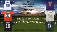 OKAUTHENTICS NFL MVP, HOF, & PRO BOWL Jersey Mystery Box - Series IV at PristineAuction.com