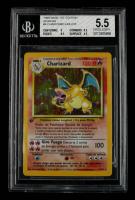 Charizard 1999 Pokemon Base 1st Edition Spanish #4 Holo (BGS 5.5) at PristineAuction.com