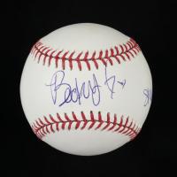 "Becky G Signed OML Baseball Inscribed ""Shower"" (PSA COA) at PristineAuction.com"
