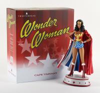 Wonder Woman - Lynda Carter - DC Comics Tweeterhead Limited Edition Cape Variant Maquette Statue at PristineAuction.com