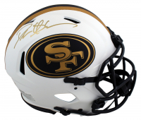 Deion Sanders Signed 49ers Full-Size Authentic On-Field Lunar Eclipse Alternate Speed Helmet (Beckett Hologram) at PristineAuction.com