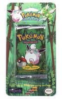 1999 Pokemon Wigglytuff Artwork Jungle Blister Pack at PristineAuction.com