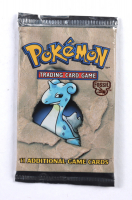 1999 Pokemon Lapras Artwork Fossil Booster Pack at PristineAuction.com