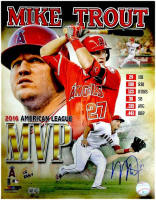 Mystery Ink Signed 11x14 Autographed Photo Mystery Box Pack – Mixed Sports MIKE TROUT Edition at PristineAuction.com