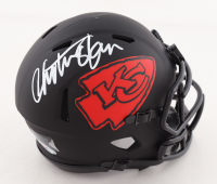 Christian Okoye Signed Chiefs Eclipse Alternate Speed Mini Helmet (PSA COA) at PristineAuction.com