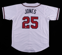 Andruw Jones Signed Jersey (PSA COA) at PristineAuction.com