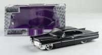 "Paul Sorvino Signed 1963 Cadillac - 1:24 Big Time Kustoms Metals Diecast Car Inscribed ""Paulie"" (JSA COA) at PristineAuction.com"