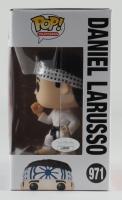 """Ralph Macchio Signed """"Cobra Kai"""" #971 Daniel LaRusso Funko Pop! Vinyl Figure Inscribed """"Banzai"""" (JSA COA) (See Description) at PristineAuction.com"""