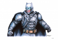 Thang Nguyen - Batman - Power Armor Suit - DC Comics - 8x12 Signed Limited Edition Giclee on Fine Art Paper #/50 at PristineAuction.com