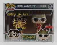 "Chauncey Leopardi Signed ""The Sandlot"" Squints & Wendy Peffercorn Funko Pop! Vinyl Figure Set Inscribed ""Squints"" & ""Pervin This Dish"" (JSA COA) (See Description) at PristineAuction.com"