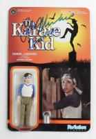 "Ralph Macchio Signed ""The Karate Kid"" Daniel LaRusso ReAction Figure Inscribed ""Daniel-San"" (JSA COA) (See Description) at PristineAuction.com"