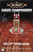 "Ralph Macchio & William Zabka Signed ""The Karate Kid"" 11x17 Photo (JSA COA) at PristineAuction.com"