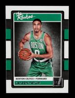 Jayson Tatum 2017-18 Donruss Optic The Rookies #3 RC at PristineAuction.com