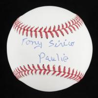 """Tony Sirico Signed OML Baseball Inscribed """"Paulie"""" (JSA COA) at PristineAuction.com"""