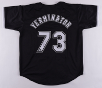Yermin Mercedes Signed Jersey (Beckett Hologram) at PristineAuction.com