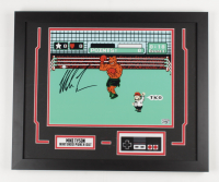 """Mike Tyson Signed """"Punch-Out!!!"""" 18x22 Custom Framed Photo Display with Replica NES Controller (Fiterman Sports Hologram) at PristineAuction.com"""