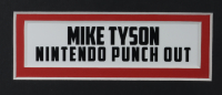 """Mike Tyson Signed """"Punch-Out!!!"""" 18x22 Custom Framed Photo Display with Replica Nintendo Controller (Tyson Hologram) at PristineAuction.com"""