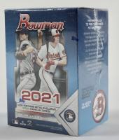 2021 Bowman Baseball Blaster Box with (6) Packs at PristineAuction.com