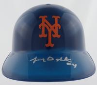 Lenny Dykstra Signed Mets Full-Size Batting Helmet (Beckett Hologram) at PristineAuction.com