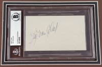 """Lee Van Cleef Signed """"For A Few Dollars More"""" 12x20 Custom Matted Cut Display (BGS Encapsulated) at PristineAuction.com"""