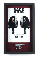 """""""Men in Black II"""" 14.5x23.5 Custom Framed Movie Poster Display with """"Noisy Cricket"""" Prop at PristineAuction.com"""