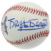 Brigitte Bardot Signed OML 100 Years Fenway Park Anniversary Logo Baseball (JSA COA & Beckett COA) (See Description) at PristineAuction.com