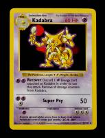Kadabra 1999 Pokemon Base Shadowless #32 at PristineAuction.com